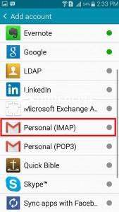 Personal (IMAP)